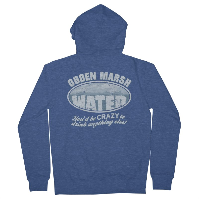 Ogden Marsh Water Men's Zip-Up Hoody by robotrobotrobot's Artist Shop
