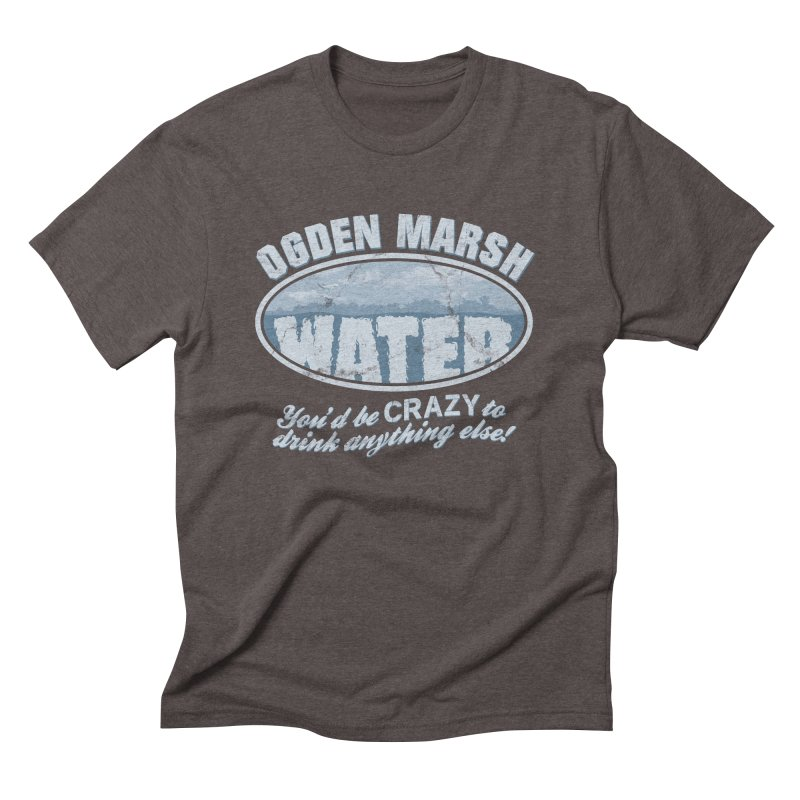 Ogden Marsh Water Men's Triblend T-Shirt by robotrobotrobot's Artist Shop