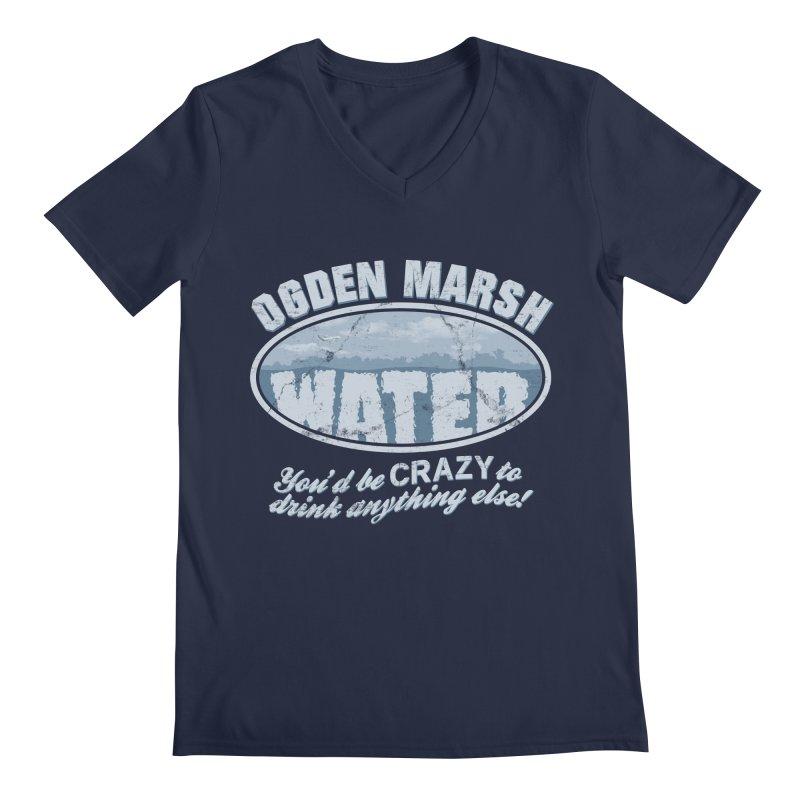 Ogden Marsh Water Men's V-Neck by robotrobotrobot's Artist Shop