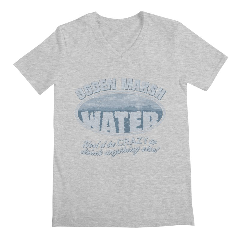 Ogden Marsh Water Men's V-Neck by robotrobotrobot's Artist Shop