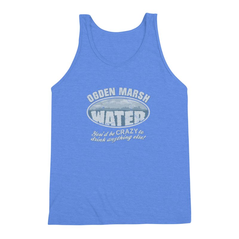 Ogden Marsh Water Men's Triblend Tank by robotrobotrobot's Artist Shop