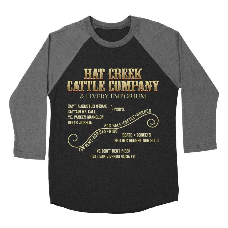 Hat Creek Cattle Company Sign Women's Baseball Triblend T-Shirt by robotrobotrobot's Artist Shop