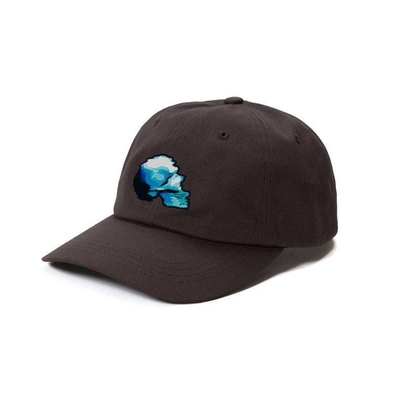 Glitch Skull (Original) Accessories Hat by Glitch Goods by Rob Sheridan