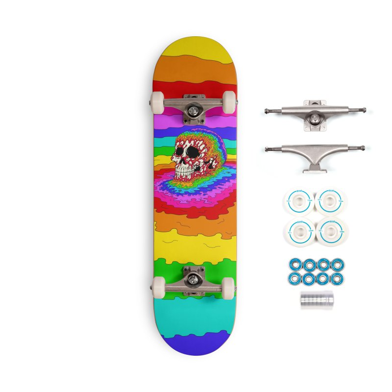 Mind Melt Accessories Skateboard by Glitch Goods by Rob Sheridan