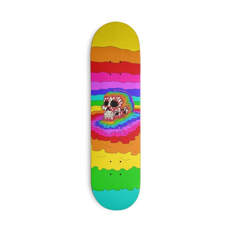 Mind Melt Accessories Skateboard by Glitch Goods by Rob Sheridan