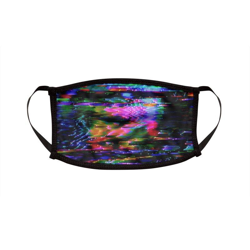 VHS Glitch 001: Azimuth Accessories Face Mask by Glitch Goods by Rob Sheridan