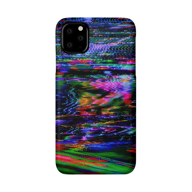 VHS Glitch 001: Azimuth Accessories Phone Case by Glitch Goods by Rob Sheridan