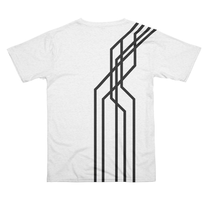 Troublemaker Men's Cut & Sew by Glitch Goods by Rob Sheridan