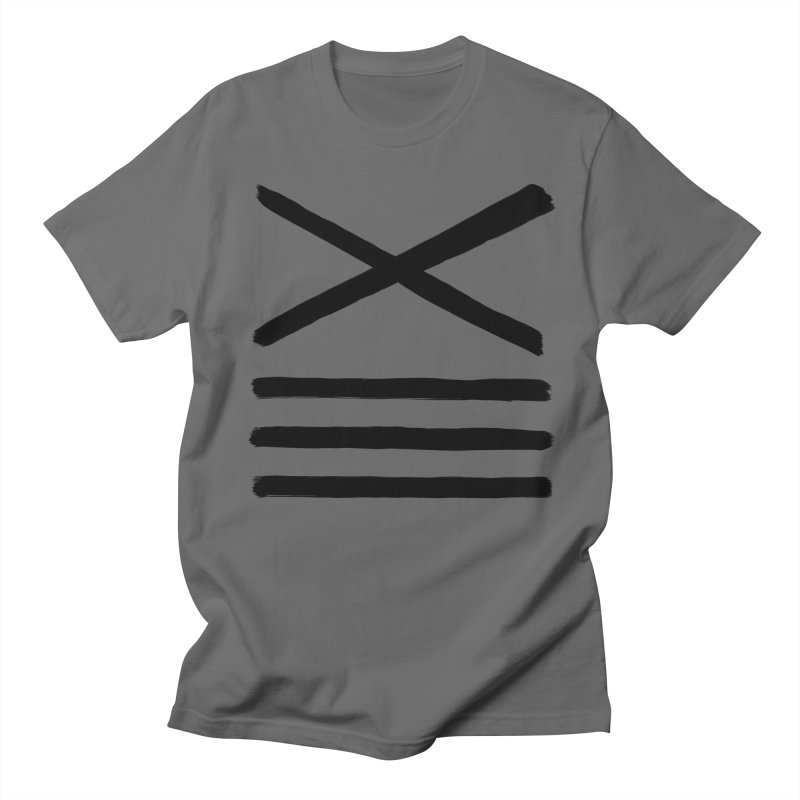 High Level: Thirteen XIII (Black) Men's T-Shirt by Glitch Goods by Rob Sheridan