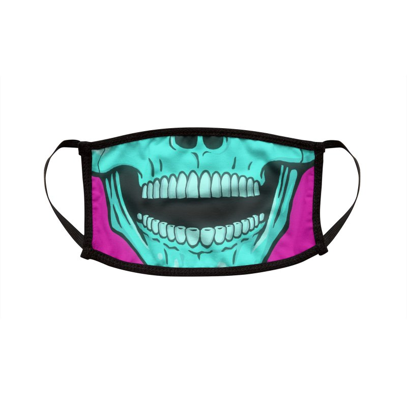 Brainworms Accessories Face Mask by Glitch Goods by Rob Sheridan