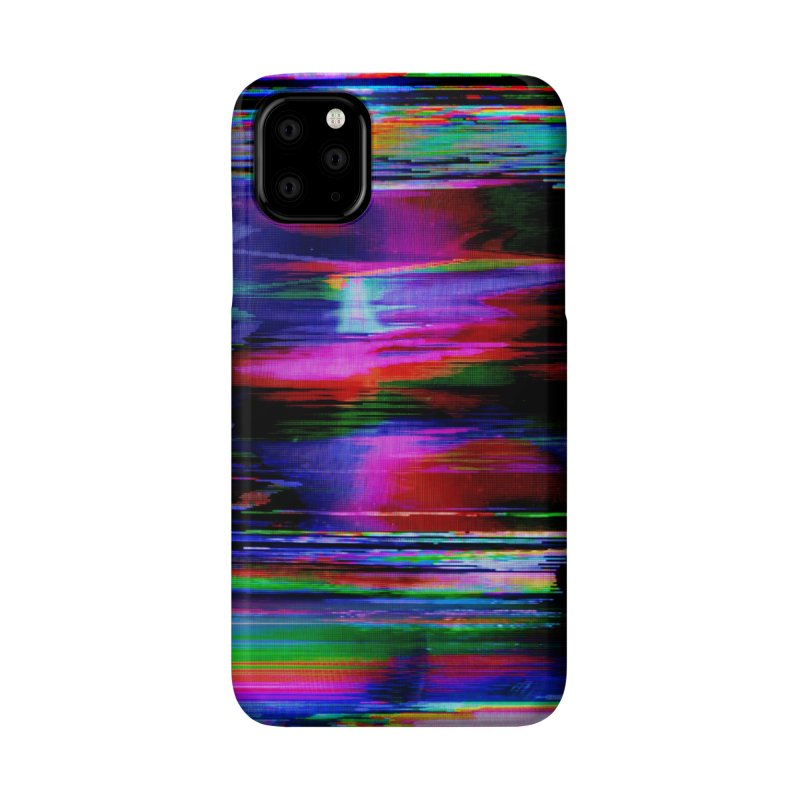 VHS Glitch 003: Phosphor Curves Accessories Phone Case by Glitch Goods by Rob Sheridan