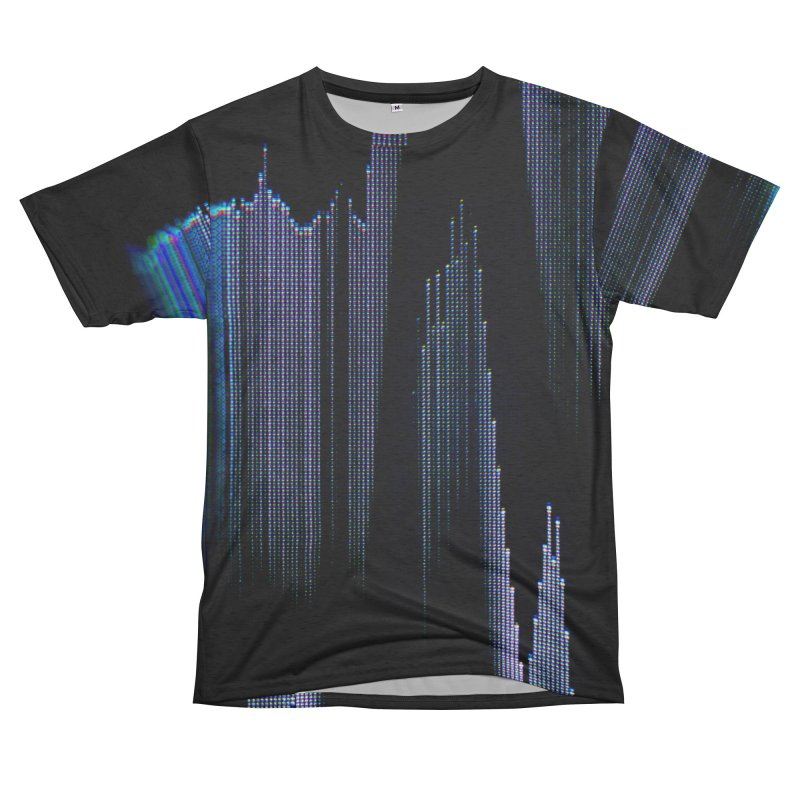 VHS Glitch 004: Synchron Pulse Men's Cut & Sew by Glitch Goods by Rob Sheridan