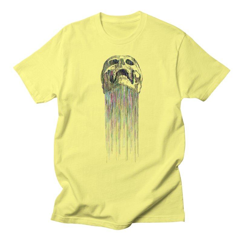 Rainbow Death Men's T-Shirt by Glitch Goods by Rob Sheridan
