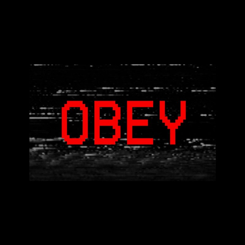OBEY Accessories Face Mask by Glitch Goods by Rob Sheridan