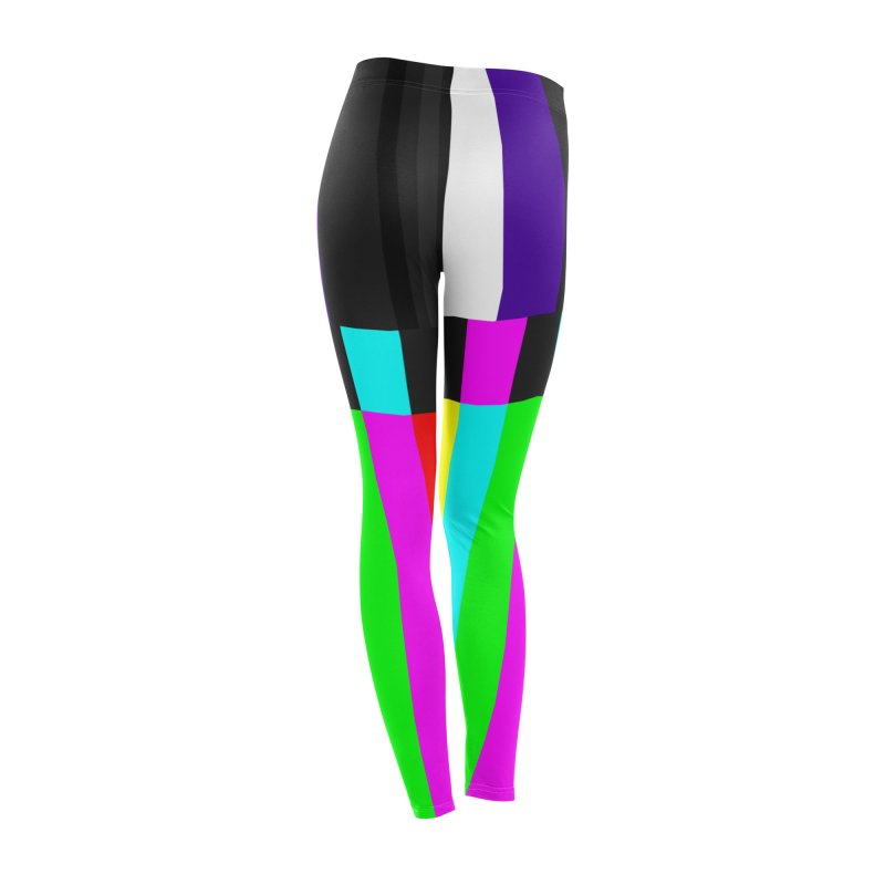 SMPTE TV Color Bars Test Pattern Women's Bottoms by Glitch Goods by Rob Sheridan