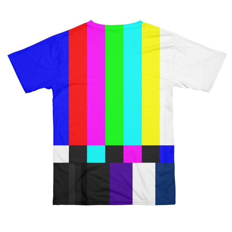 SMPTE TV Color Bars Test Pattern Men's Cut & Sew by Glitch Goods by Rob Sheridan