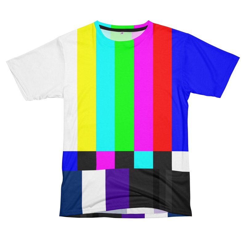 SMPTE TV Color Bars Test Pattern Women's Cut & Sew by Glitch Goods by Rob Sheridan