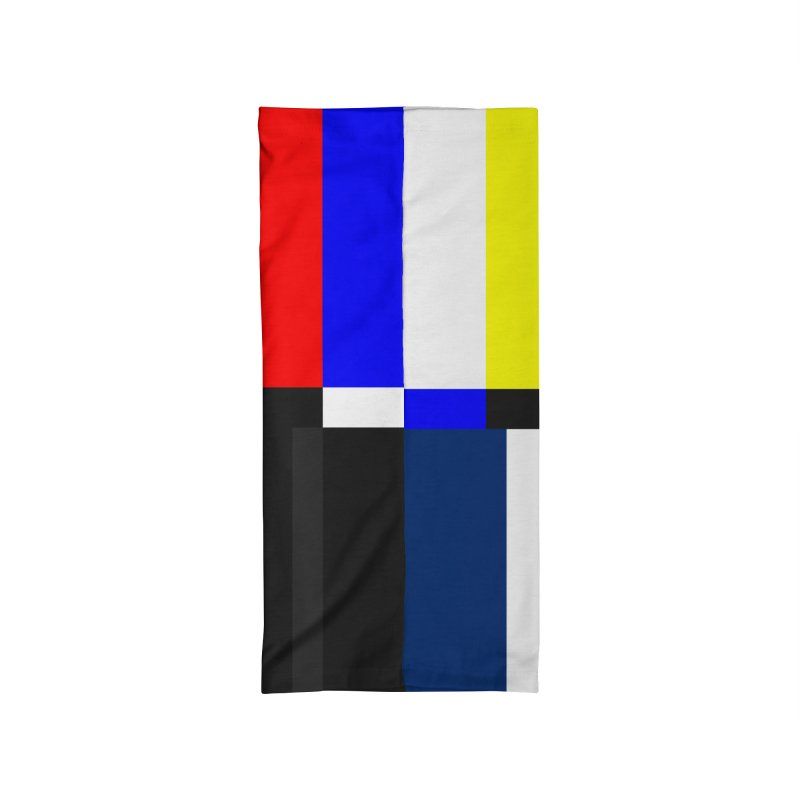 SMPTE TV Color Bars Test Pattern Accessories Neck Gaiter by Glitch Goods by Rob Sheridan