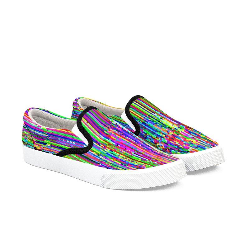 Digital Glitch 004 Women's Shoes by Glitch Goods by Rob Sheridan