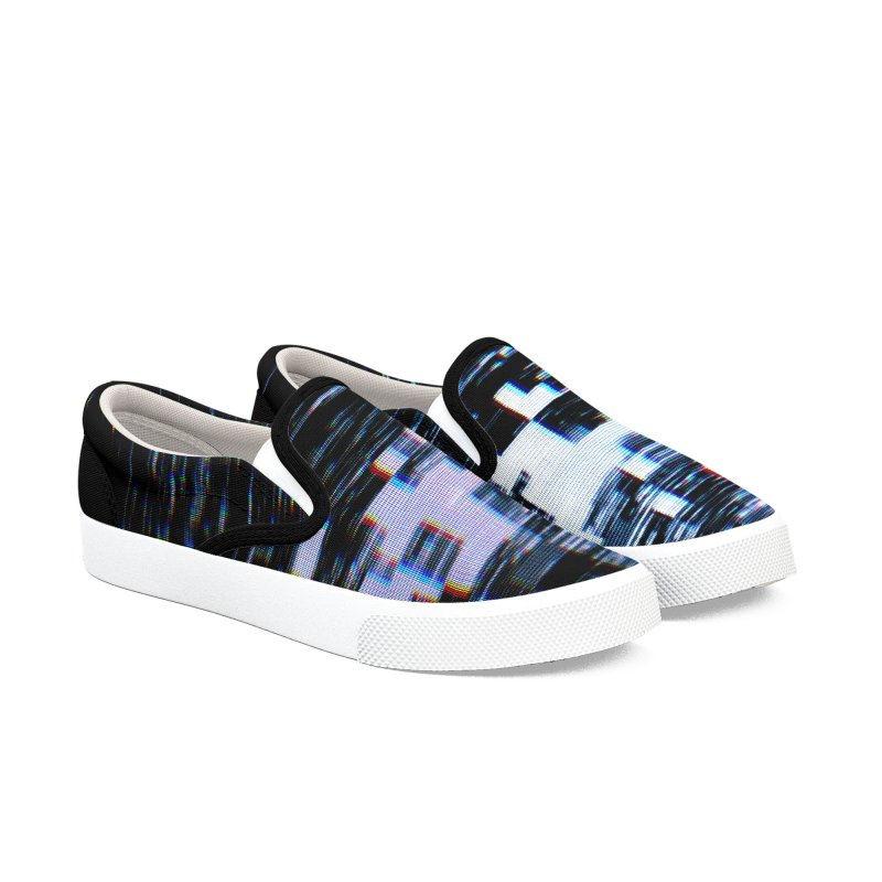 Betamax Glitch 001 Men's Shoes by Glitch Goods by Rob Sheridan