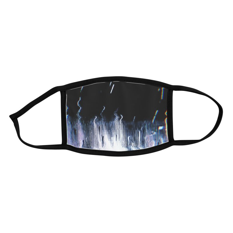 Betamax Glitch 003 Accessories Face Mask by Glitch Goods by Rob Sheridan