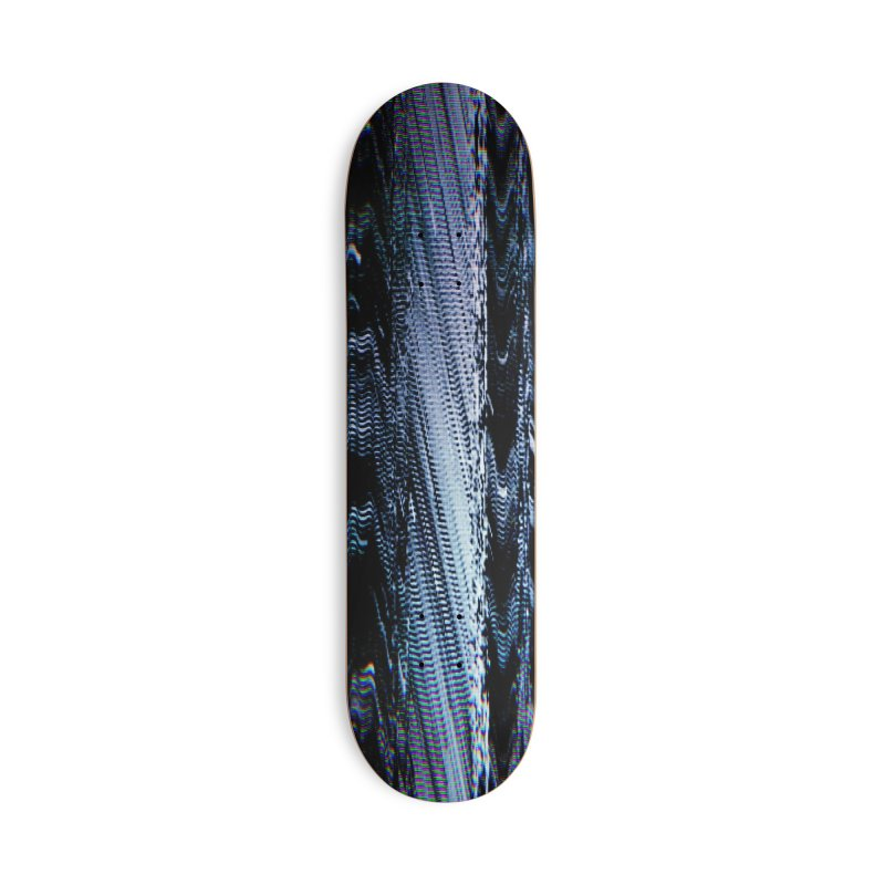 Betamax Glitch 004 Accessories Skateboard by Glitch Goods by Rob Sheridan