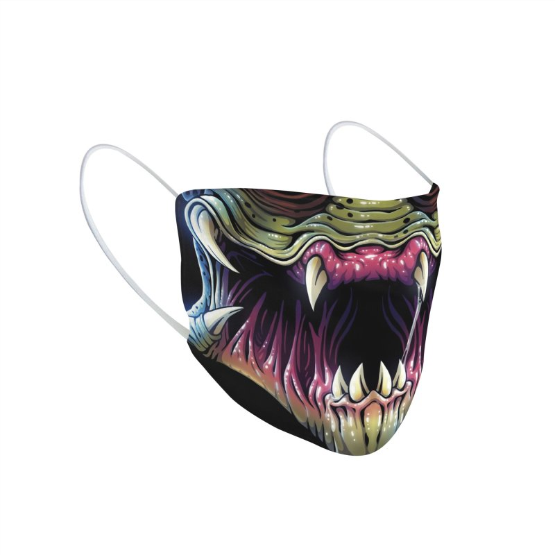 Alien Hunter (adult sizes) Accessories Face Mask by Glitch Goods by Rob Sheridan