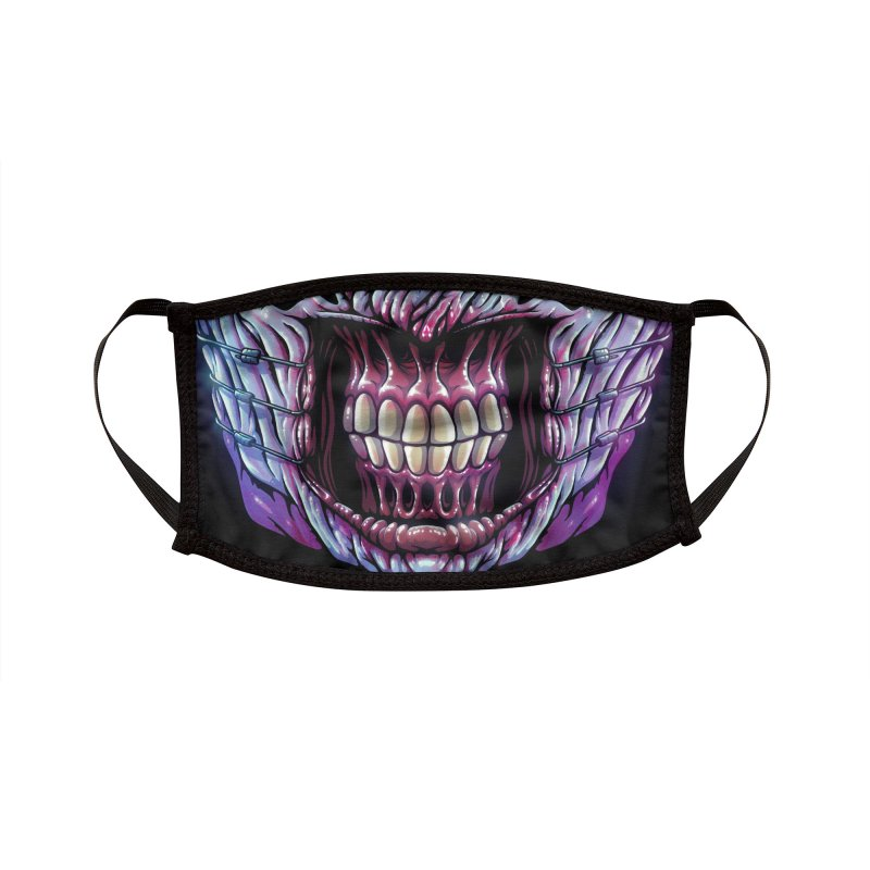 Chatter Demon (adult sizes) Accessories Face Mask by Glitch Goods by Rob Sheridan