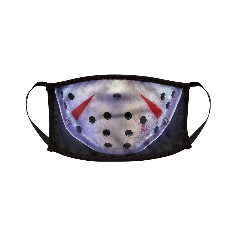 Slasher Mask (adult sizes) Accessories Face Mask by Glitch Goods by Rob Sheridan