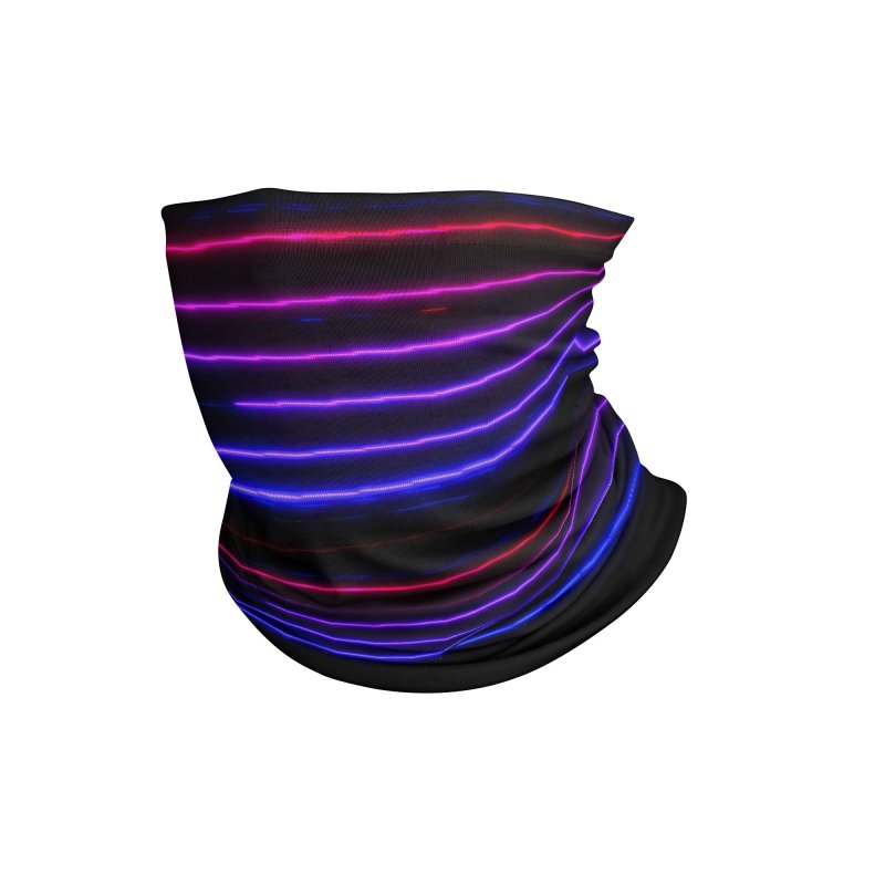 CRT Punk 001 Accessories Neck Gaiter by Glitch Goods by Rob Sheridan
