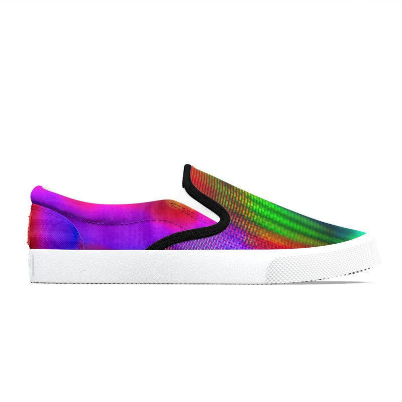 CRT Punk 002 Women's Shoes by Glitch Goods by Rob Sheridan