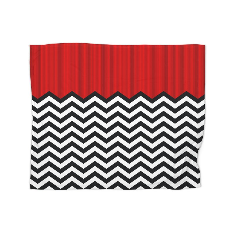 The Lodge Home Decor Blanket by Glitch Goods by Rob Sheridan