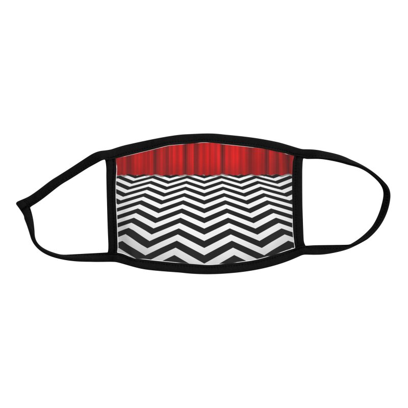 The Lodge Accessories Face Mask by Glitch Goods by Rob Sheridan