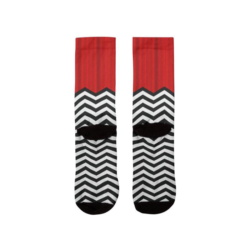 The Lodge Women's Socks by Glitch Goods by Rob Sheridan