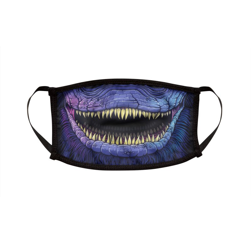 Creeper (adult sizes) Accessories Face Mask by Glitch Goods by Rob Sheridan