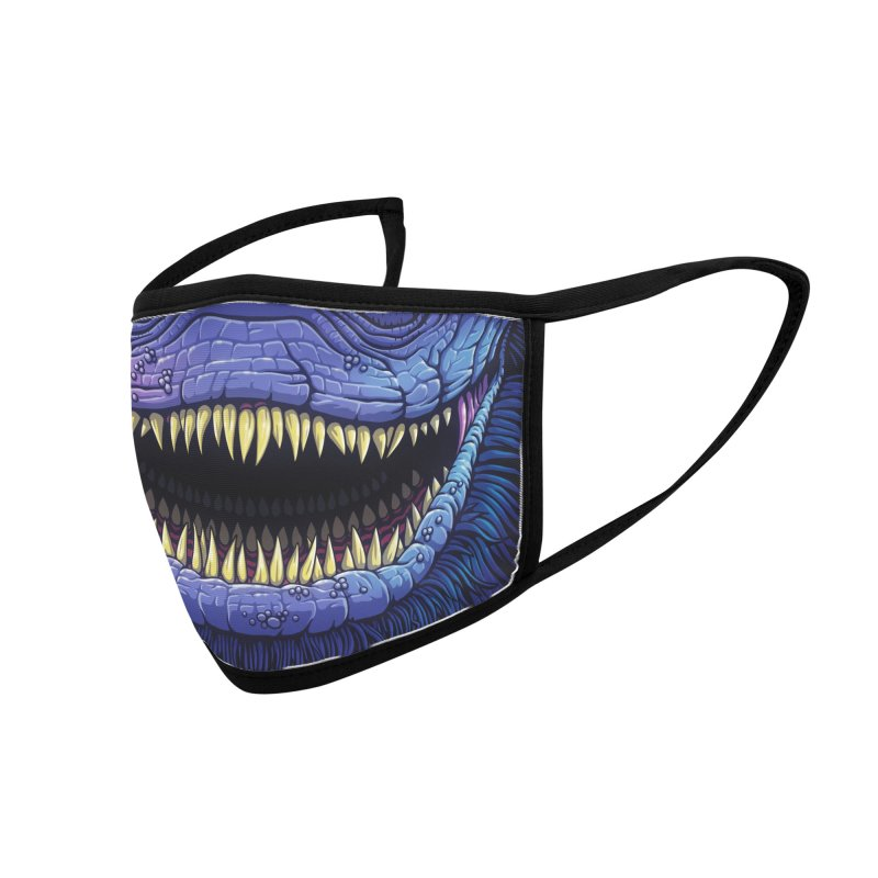 Creeper (youth sizes) Accessories Face Mask by Glitch Goods by Rob Sheridan