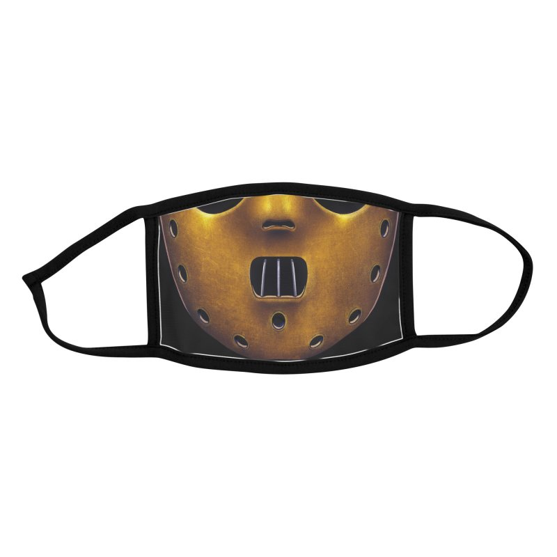 Cannibal Killer (youth sizes) Accessories Face Mask by Glitch Goods by Rob Sheridan
