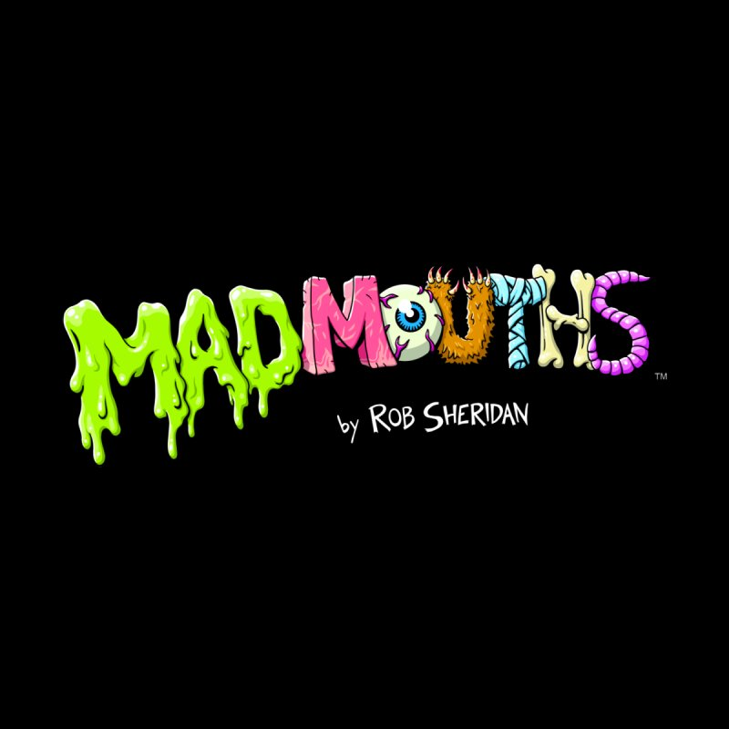 MADMOUTHS Logo T-Shirt (dark colors) Kids Toddler Pullover Hoody by Glitch Goods by Rob Sheridan