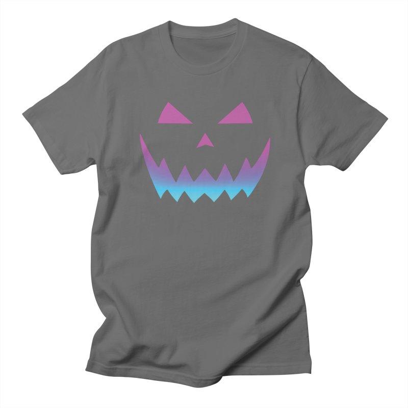 CyberPunkin Men's T-Shirt by Glitch Goods by Rob Sheridan