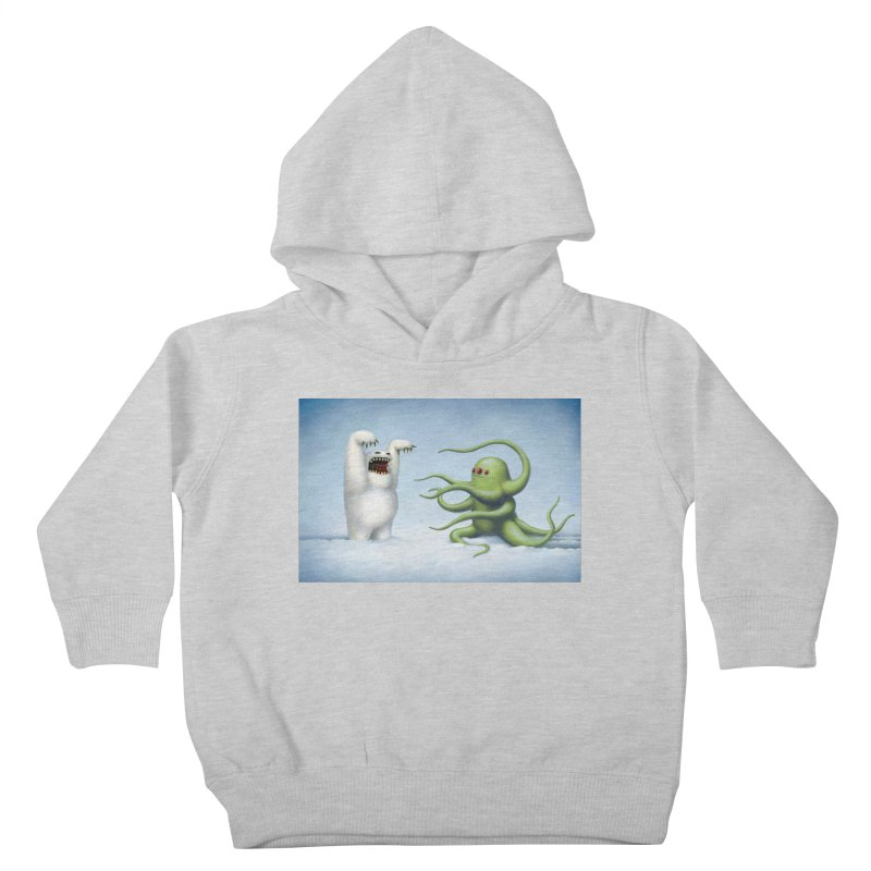 Scare Tactics Kids Toddler Pullover Hoody by Glitch Goods by Rob Sheridan