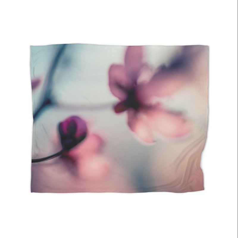 Texture: Flowers 001 Home Blanket by Glitch Goods by Rob Sheridan
