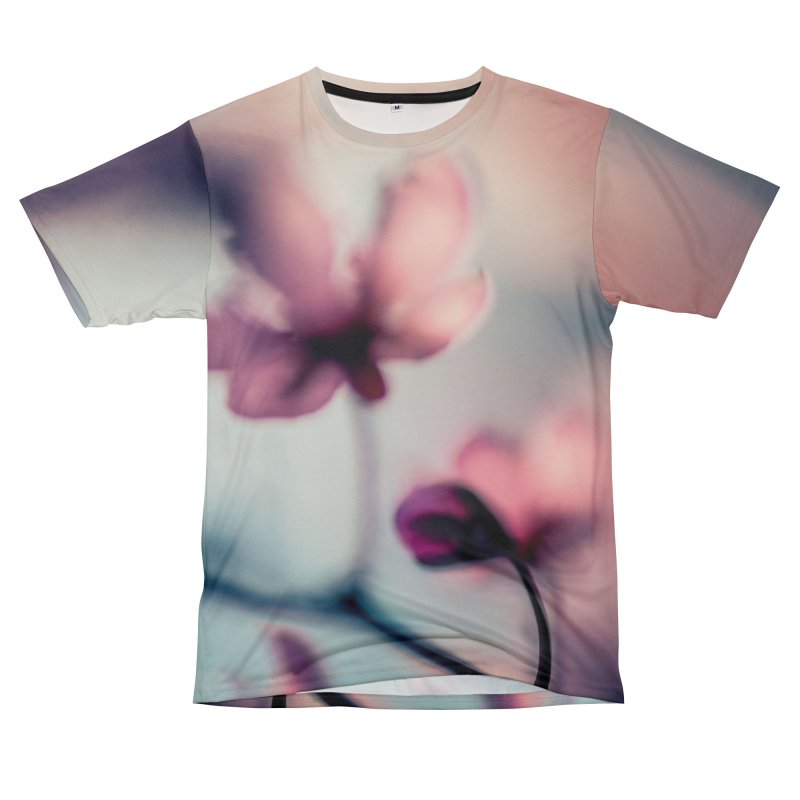 Texture: Flowers 001 Women's Cut & Sew by Glitch Goods by Rob Sheridan