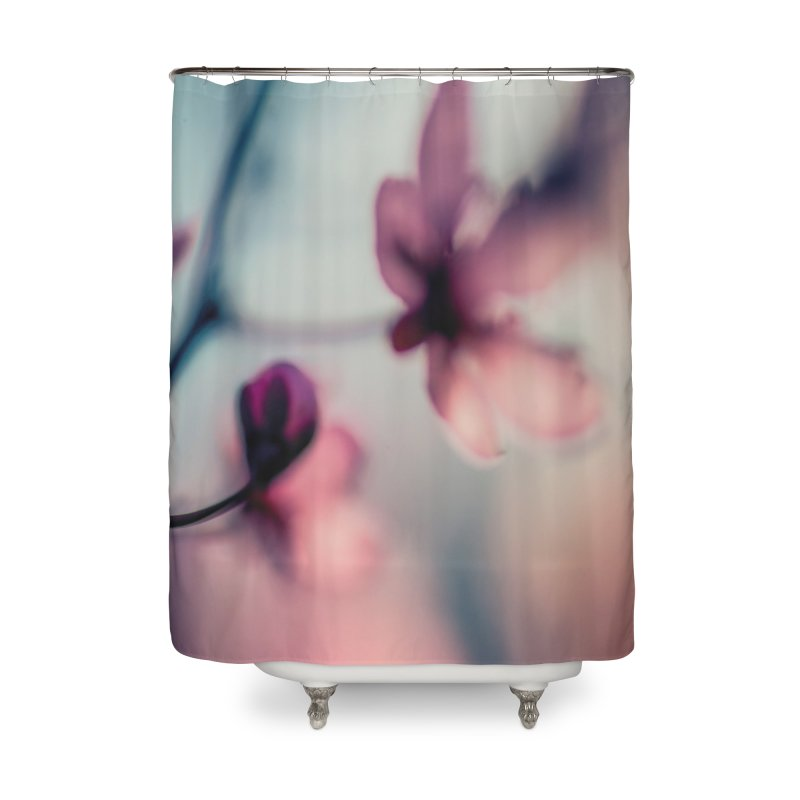 Texture: Flowers 001 Home Decor Shower Curtain by Glitch Goods by Rob Sheridan