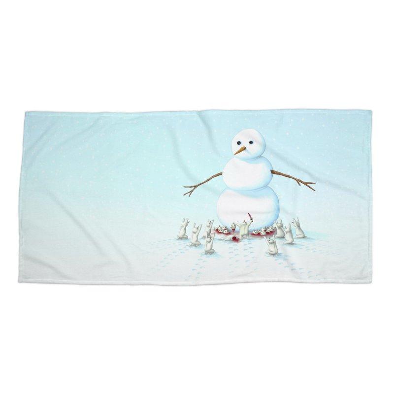 Idol Worship Accessories Beach Towel by Glitch Goods by Rob Sheridan