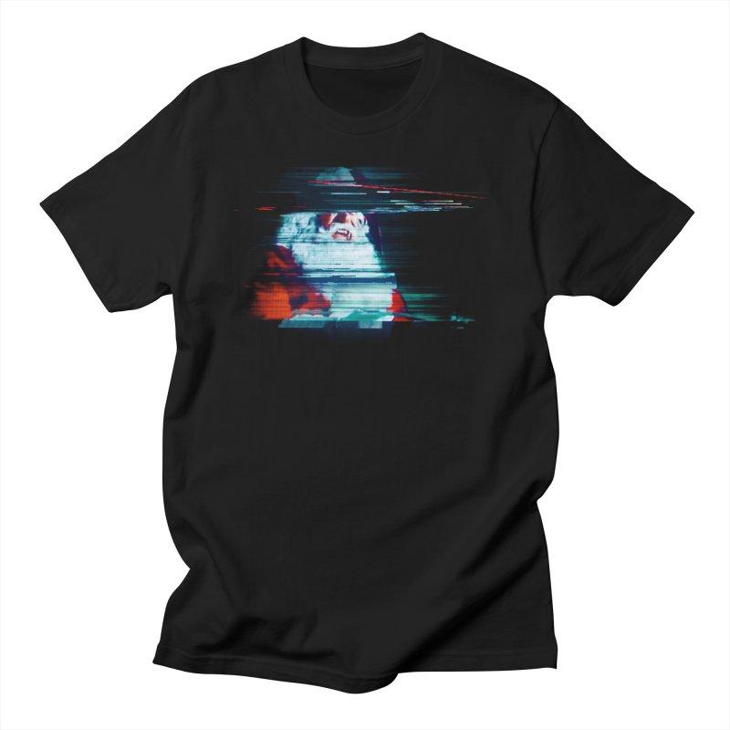 Santa Glitch Men's T-Shirt by Glitch Goods by Rob Sheridan
