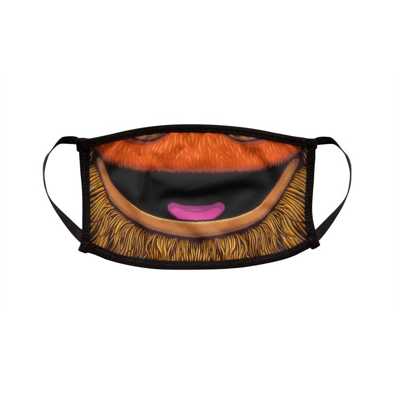 Gritter (adult sizes) Accessories Face Mask by Glitch Goods by Rob Sheridan
