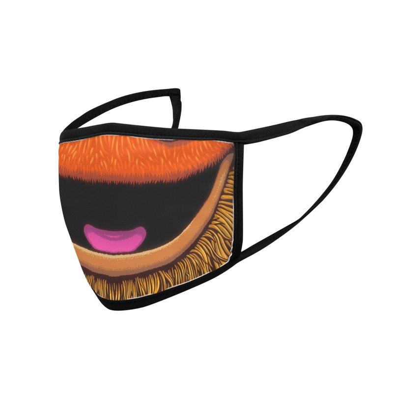 Gritter (youth sizes) Accessories Face Mask by Glitch Goods by Rob Sheridan