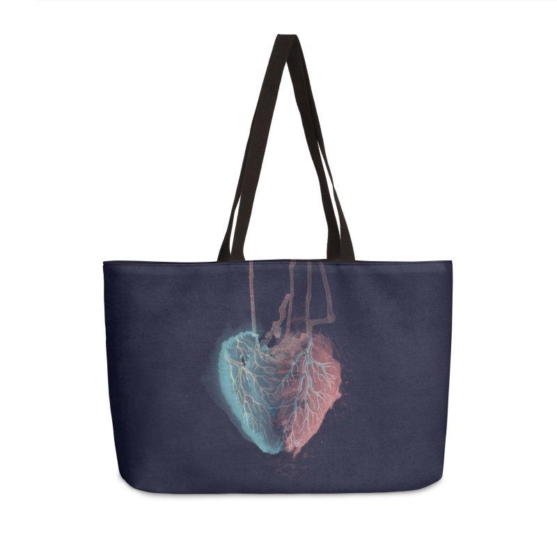 Heart (dark) Accessories & Masks Bag by Glitch Goods by Rob Sheridan