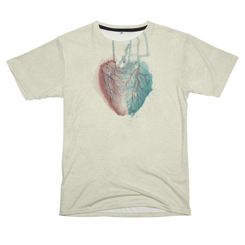 Heart (light) Men's Cut & Sew by Glitch Goods by Rob Sheridan