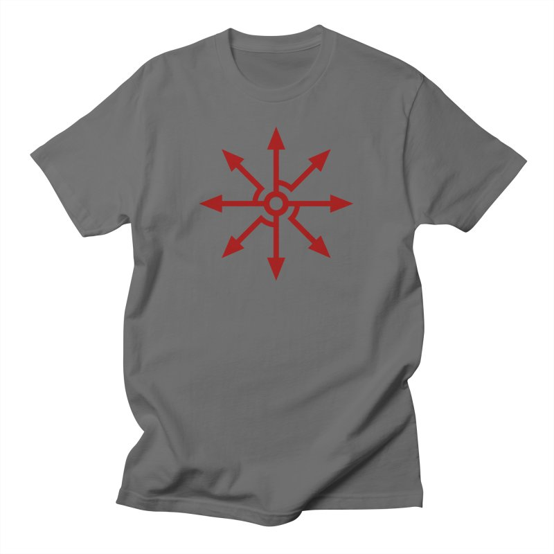 High Level: The Red King's Sigil Men's T-Shirt by Glitch Goods by Rob Sheridan